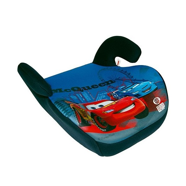 R hausseur auto 15kg 36kg disney cars 2 aquacars for Siege auto enfant 15kg